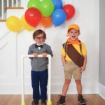 DIY Halloween Costume for Brothers: Pixar's UP