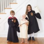 Harry Potter Costumes with a DIY Dobby Costume