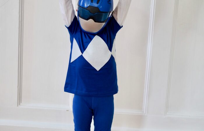 Easy DIY Power Ranger Costume