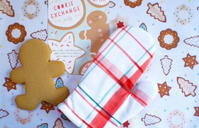 Holiday Party Idea: Mother Daughter Cookie Exchange