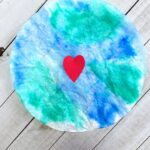 Easy Earth Day Activity: Coffee Filter Planet Earth