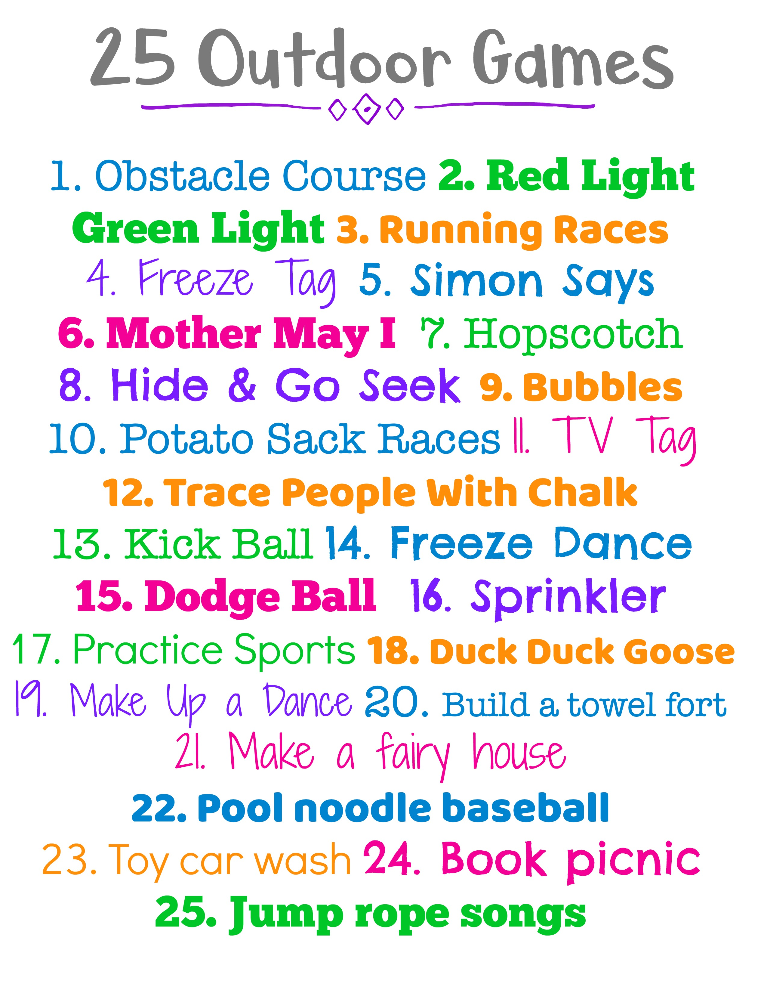 Image result for outdoor challenge for kids