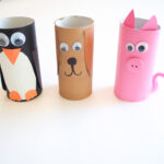 Activities for Kids: 3 Toilet Paper Roll Animals