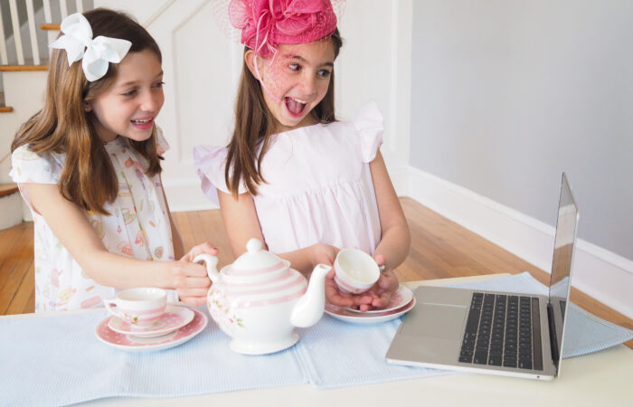 Mother's Day Idea: Have a Virtual Tea Party