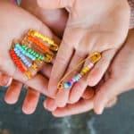Fun Summer Craft for Kids: Friendship Pins
