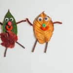 Simple Preschool Activities: Fall Leaves