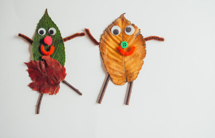 Simple Preschool Activities: Fall Leaves