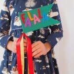 Easy DIY Felt Holiday Flags