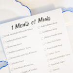 A Month of Meal Ideas: Free Printable Checklist
