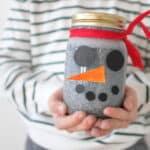 DIY Snowman Calm Down Jar