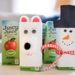 2 Cute Winter Juice Box Crafts