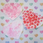 Bubble Wrap Painting for Valentine's Day