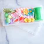 DIY Mini Spring Play Dough Kits