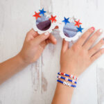 Red, White & Blue Activities for Girls