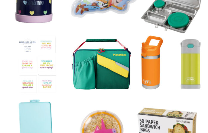 20 Favorites for Packing Lunches