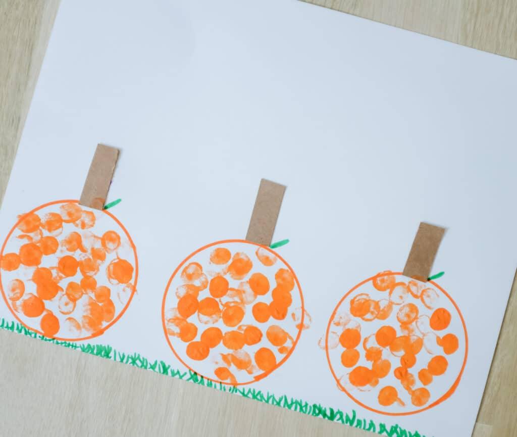 Fingerprint pumpkin patch